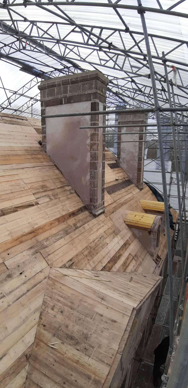 Chantier Carneville toiture